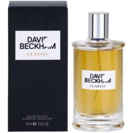 David Beckham Classic Eau de Toilette für Herren 90 ml