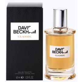 David Beckham Classic Eau de Toilette for Men 40 ml