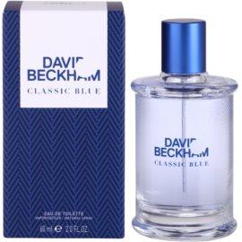 David Beckham Classic Blue Eau de Toilette für Herren 60 ml
