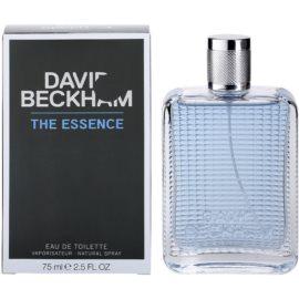 David Beckham The Essence Eau de Toilette pentru barbati 75 ml