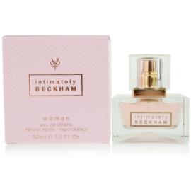 David Beckham Intimately Woman eau de toilette nőknek 30 ml