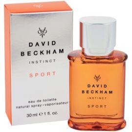 David Beckham Instinct Sport Eau de Toilette para homens 30 ml