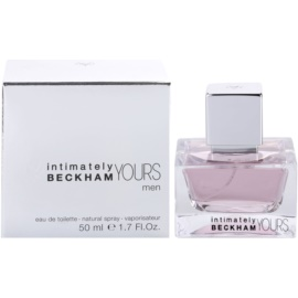 David Beckham Intimately Yours Men Eau de Toilette für Herren 50 ml