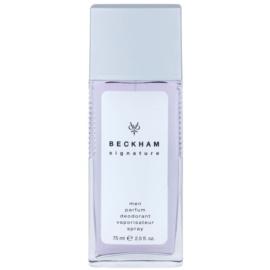 David Beckham Signature for Him desodorizante vaporizador para homens 75 ml