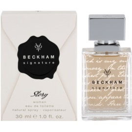 David Beckham Signature for Her Story toaletna voda za ženske 30 ml