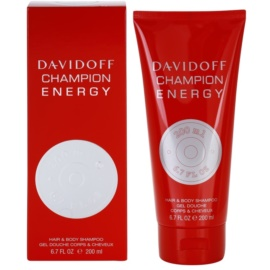 Davidoff Champion Energy gel za prhanje za moške 200 ml
