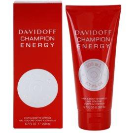 Davidoff Champion Energy gel de duche para homens 200 ml