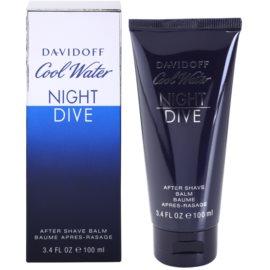 Davidoff Cool Water Night Dive balzám po holení pro muže 100 ml