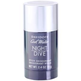 Davidoff Cool Water Night Dive Deo-Stick für Herren 70 g