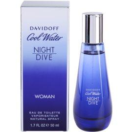 Davidoff Cool Water Night Dive toaletní voda pro ženy 50 ml