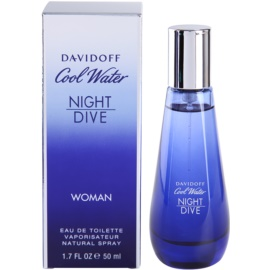 Davidoff Cool Water Woman Night Dive eau de toilette nőknek 50 ml
