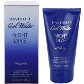 Davidoff Cool Water Night Dive losjon za telo za ženske 150 ml