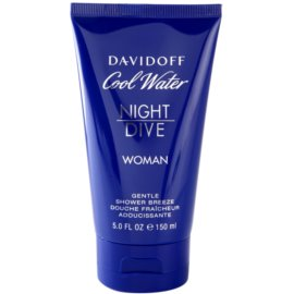 Davidoff Cool Water Woman Night Dive gel de dus pentru femei 150 ml