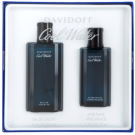 Davidoff Cool Water coffret XII.  Eau de Toilette 125 ml + loção after shave 75 ml