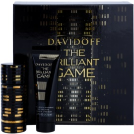 Davidoff The Brilliant Game set cadou I. Apa de Toaleta 60 ml + Gel de dus 75 ml