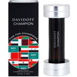 Davidoff Champion Time for Champions Limited Edition toaletní voda pro muže 90 ml