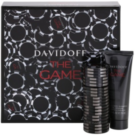 Davidoff The Game lote de regalo II.  eau de toilette 60 ml + gel de ducha 75 ml
