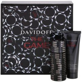 Davidoff The Game Gift Set  II.  Eau de Toilette 60 ml + Douchegel 75 ml