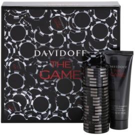 Davidoff The Game dárková sada II. toaletní voda 60 ml + sprchový gel 75 ml