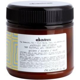 Davines Alchemic Golden balsam hidratant pentru a evidentia culoarea parului  250 ml