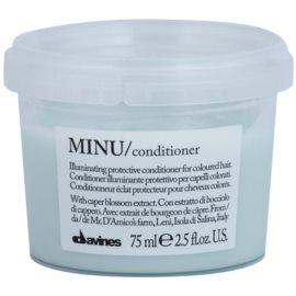 Davines Minu Caper Blossom ochranný kondicionér pro barvené vlasy  75 ml