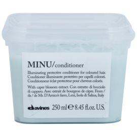 Davines Minu Caper Blossom ochranný kondicionér pro barvené vlasy  250 ml