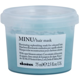 Davines Minu Caper Blossom Restoring Mask For Colored Hair  75 ml