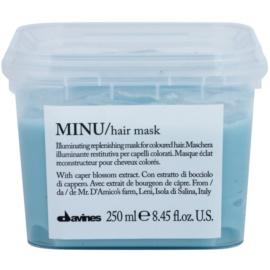 Davines Minu Caper Blossom obnovující maska pro barvené vlasy  250 ml