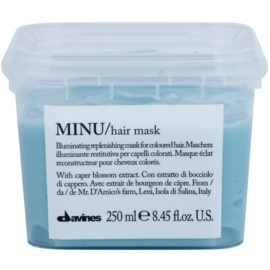 Davines Minu Caper Blossom Restoring Mask For Colored Hair  250 ml