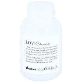 Davines Love Almond šampon za valovite lase  75 ml