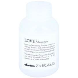 Davines Love Almond Shampoo For Wavy Hair  75 ml