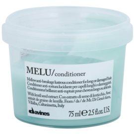 Davines Melu Lentil Seed jemný kondicionér pro poškozené a křehké vlasy  75 ml