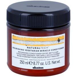 Davines Naturaltech Nourishing balzam za suhe in krhke lase  250 ml