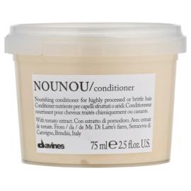 Davines NouNou Tomato kondicionér pro chemicky ošetřené vlasy  75 ml