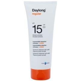 Daylong Regular lipozomální ochranné mléko SPF 15  200 ml