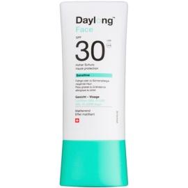 Daylong Sensitive προστατευτικό τζελ-υγρό προσώπου SPF 30  30 μλ
