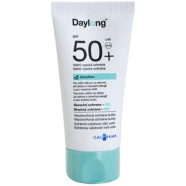 Daylong Sensitive ochranný gél pre mastnú a citlivú pokožku SPF 50+  50 ml