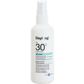 Daylong Sensitive ochranný gel-sprej pro mastnou citlivou pokožku SPF 30  150 ml