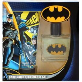 DC Universe Dark Knight darilni set I. toaletna voda 50 ml + gel za prhanje 150 ml
