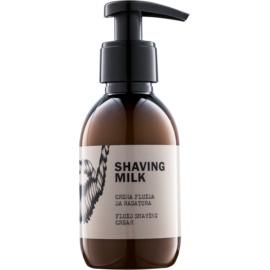 Dear Beard Shaving Milk lait pour le rasage sans sulfates, silicones ni parabènes  150 ml