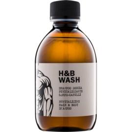 Dear Beard Shampoo H & B Wash szampon i żel pod prysznic 2 w 1 bez siarczanów i silikonów  250 ml