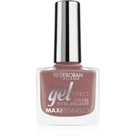 Deborah Milano Smalto Gel Effect лак для нігтів з гелевим ефектом відтінок 03 8,5 мл