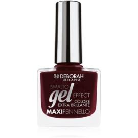 Deborah Milano Smalto Gel Effect лак для нігтів з гелевим ефектом відтінок 06 8,5 мл
