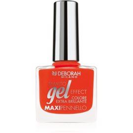 Deborah Milano Smalto Gel Effect лак для нігтів з гелевим ефектом відтінок 10 8,5 мл