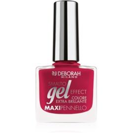 Deborah Milano Smalto Gel Effect лак для нігтів з гелевим ефектом відтінок 20 8,5 мл