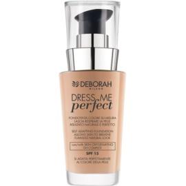 Deborah Milano Dress Me Perfect maquillaje para un aspecto natural SPF 15 tono 01 Fair 30 ml