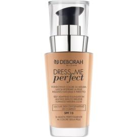 Deborah Milano Dress Me Perfect make-up pro přirozený vzhled SPF 15 odstín 03 Sand 30 ml