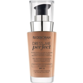 Deborah Milano Dress Me Perfect make-up pro přirozený vzhled SPF 15 odstín 04 Apricot 30 ml