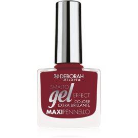 Deborah Milano Smalto Gel Effect лак для нігтів з гелевим ефектом відтінок 55 8,5 мл