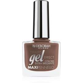 Deborah Milano Smalto Gel Effect лак для нігтів з гелевим ефектом відтінок 57 8,5 мл